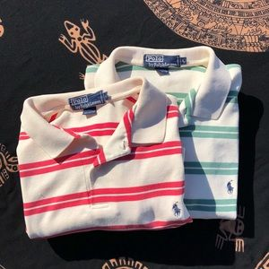 Set of striped Polos